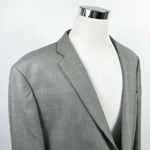 Joseph & Feiss Mens 52R Executive Fit Sports Coat